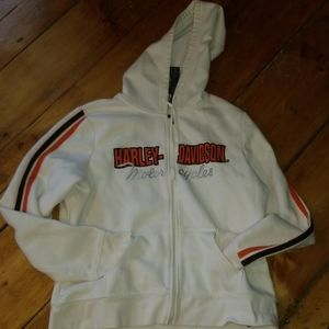 HARELY Davidson Sweatshirt with hood.